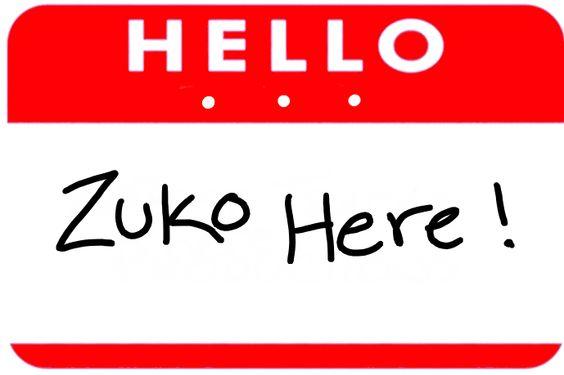 Hello...Zuko Here.