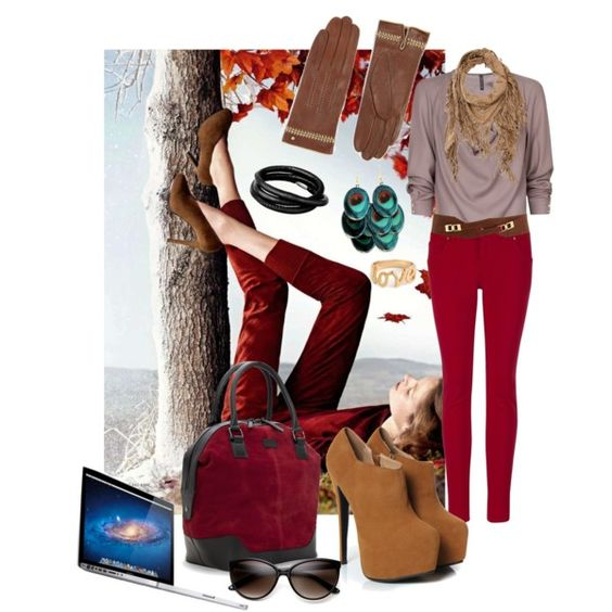 """""""red pants"""" by diana1717 on Polyvore"""