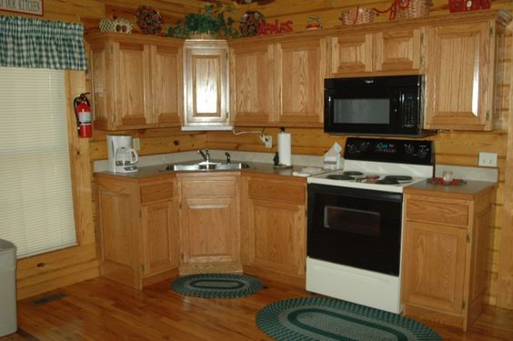 A fully functioning kitchen is what makes a home (or cabin) great. Which is why we're sure you'll love this!