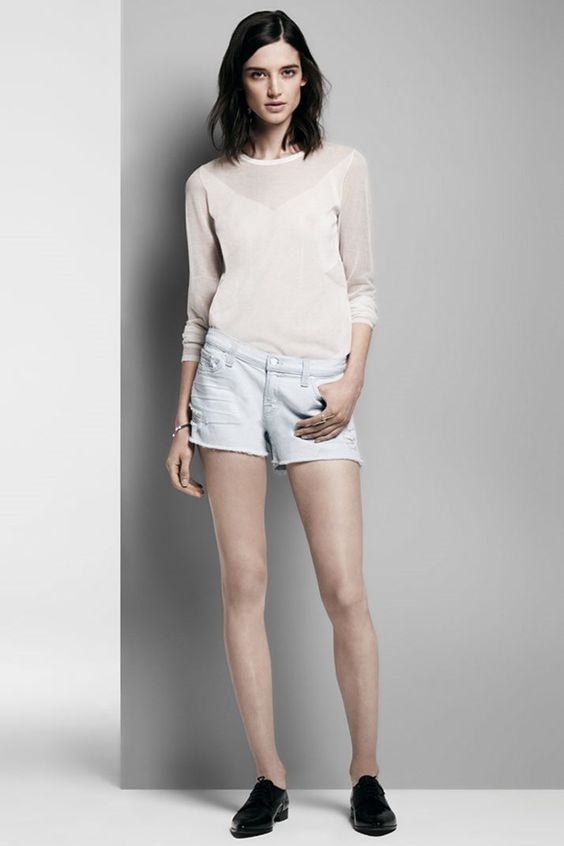 Today only. Save 25% off: 1158 Cut-Off Short in Addicted. #JBRAND