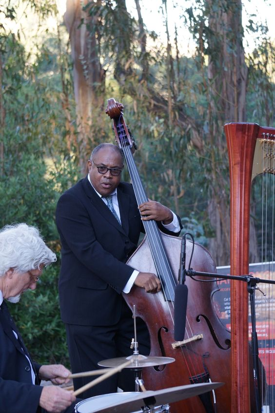 Check out these photos from Fridays in the Grove with The Destiny Muhammad Jazz Trio! Photo by Jay Yamada. Join us next Friday for our Fridays in the Grove.