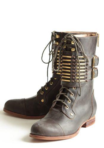 Knightly Combat Boots By Matiko   OH MON DIEU JE LES VEUX DE TOUTES MES FORCES!!!!