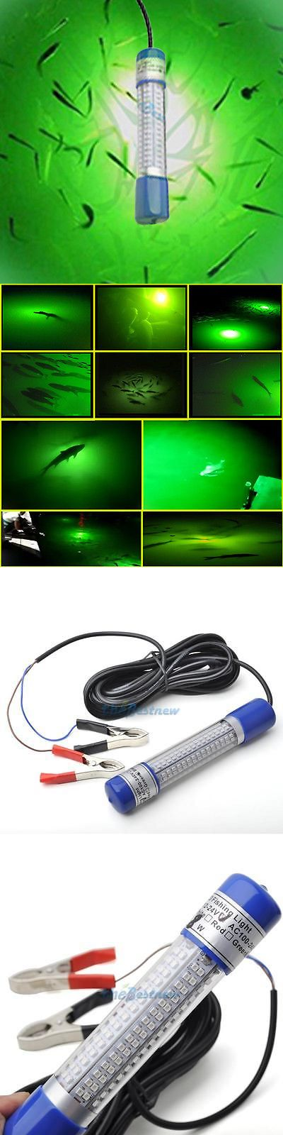 lights 123489: 12-24v led green night fishing light underwater, Reel Combo