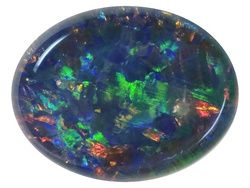 Coober Pedy Mine Opal Triplet 9x7mm Oval Cabochon