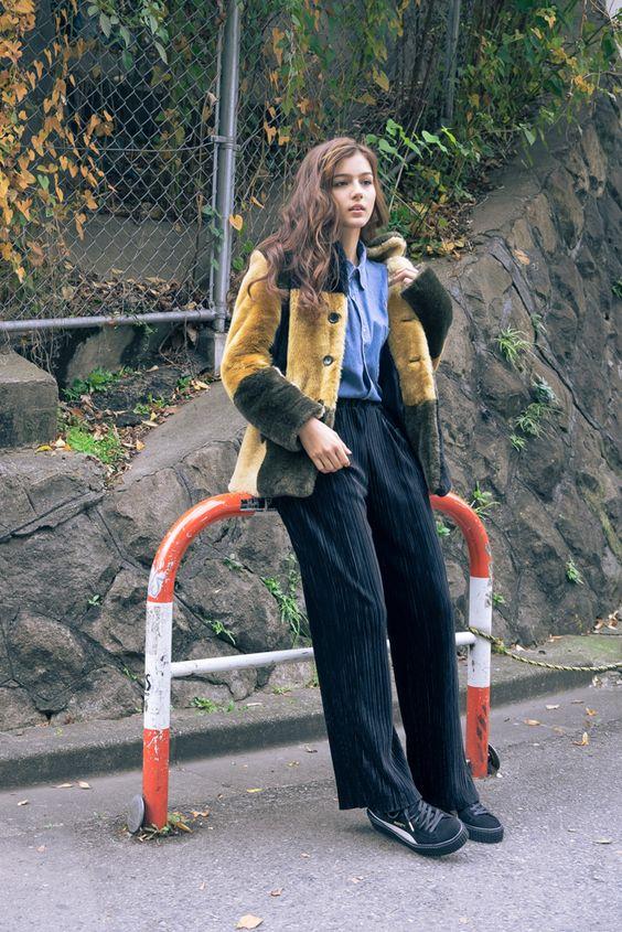 ストリートスナップ渋谷 - セレイナ・アンさん | Fashionsnap.com