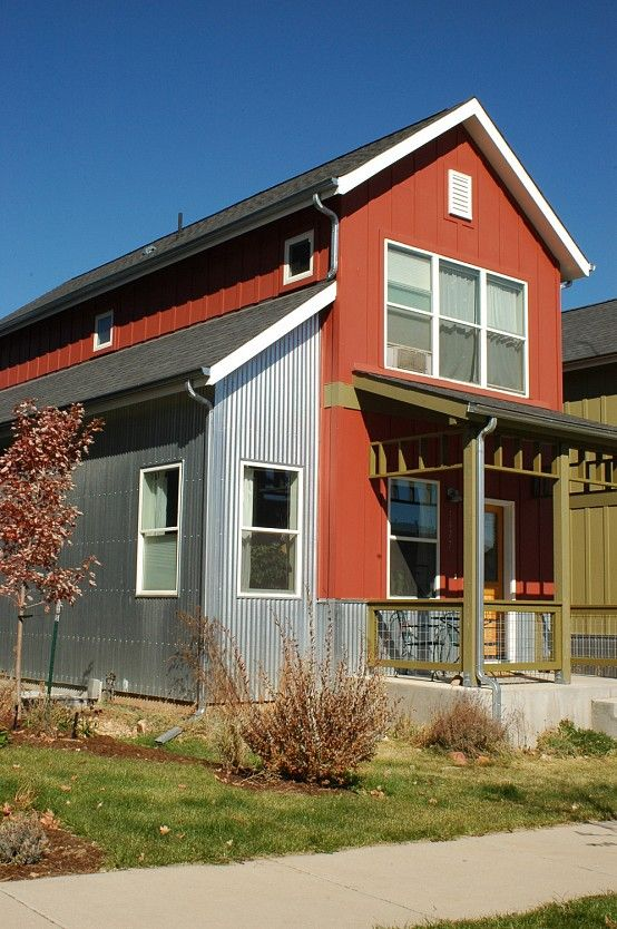 Pinterest the world s catalog of ideas for Metal board and batten siding