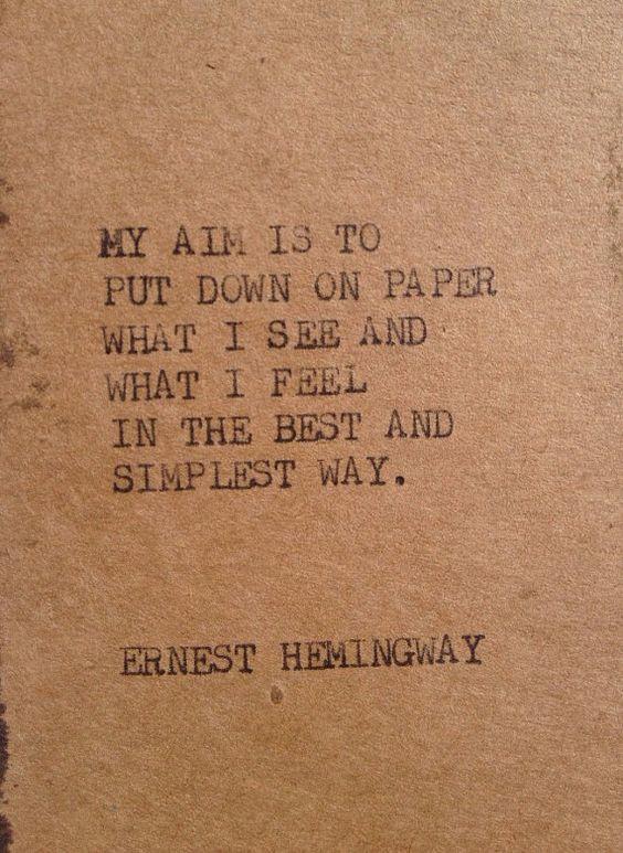 hemingway: