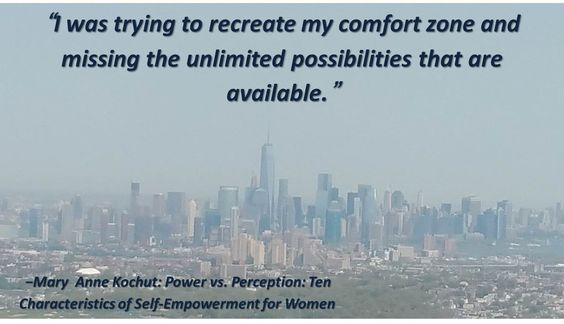 """""""I was trying to recreate my comfort zone and missing the unlimited possibilities that are available."""""""