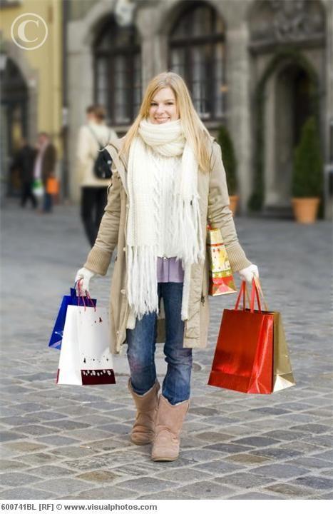 O frio não impediu as compras
