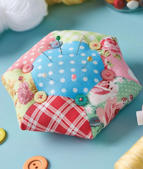 Designed with a loving attention to detail, Corinne Bradd's storage basket and pincushion are two little essentials that no sewing room should be without. Use the dainty basket to carefully tidy your crafting essentials, like yarn and fabric scraps, and store those pesky pins in one easy-to-reach place with a charming pincushion that will freshen up your workspace whilst flawlessly serving its purpose.