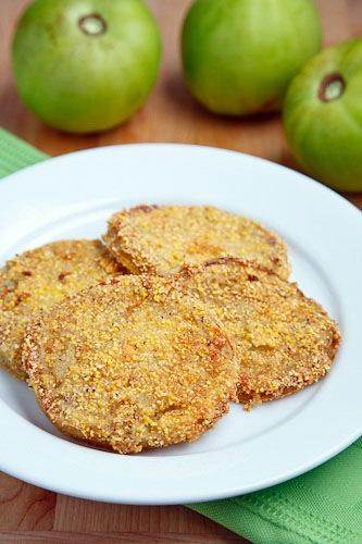 Fried green tomatoes, Green tomatoes and Tomatoes on Pinterest