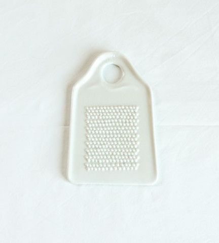 ceramic ginger grater.