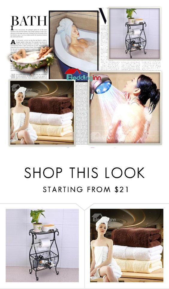 """Beddinginn Sale 23"" by azra-90 ❤ liked on Polyvore featuring interior, interiors, interior design, hogar, home decor, interior decorating, Oris y bathroom"