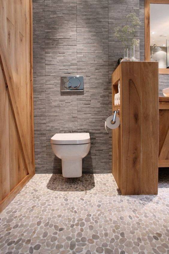 Le carrelage galet pratique rev tement pour la salle de bain pi ces de mo - Carrelage salle de bain leroy merlin catalogue ...