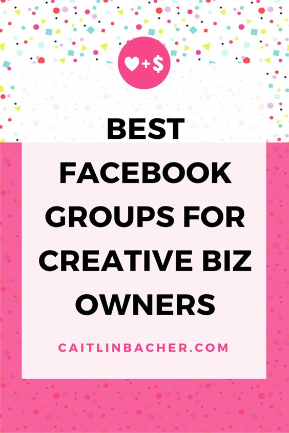 Best Facebook Groups For Creative Biz Owners | Caitlin Bacher