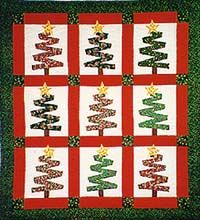 I love Christmas quilts!