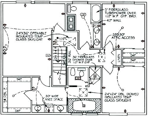 electrical plan for house house electrical wiring house