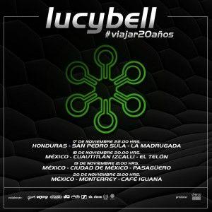Lucybell Anuncia tour por México y primer concierto en Honduras