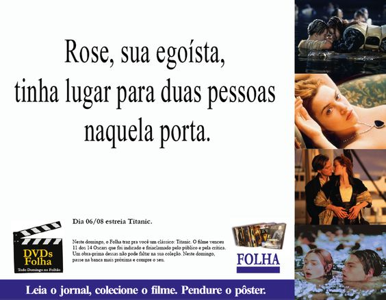 Anúncio Folha de São Paulo