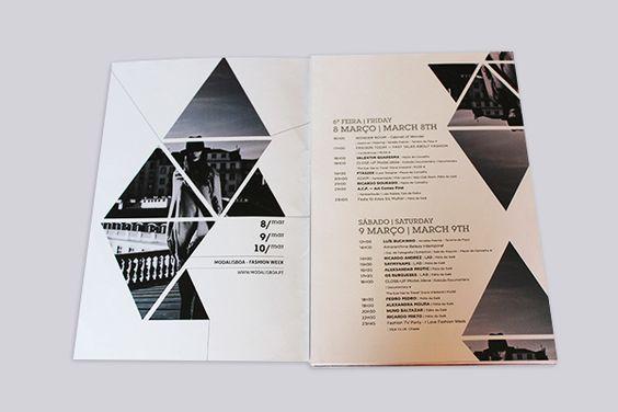 ModaLisboa Trust  Booklet desenvolvido para a 40.ª edição da Lisboa Fashion Week, intitulada ModaLisboa Trust. Projectado para a imprensa onde é apresentado o  trabalho de dezoito criadores nacionais e da guest designer polaca Monika Ptaszek, no âmbito do protocolo de intercâmbio com a FashionPhilosophy – Fashion Week Poland.