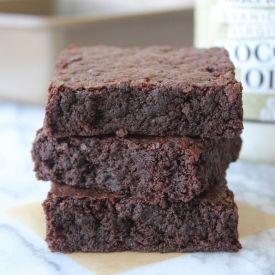 Coconut Oil Brownies: Fudgy Brownies with Sweet Yet Subtle Coconut Flavor