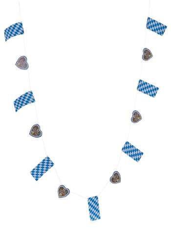 Bayernfahnen-/Lebkuchenherzen Kette