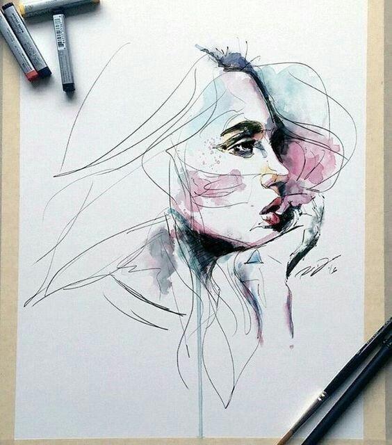 Emma Mcarthur Idees Esquisses Dessin Et Dessin Visage
