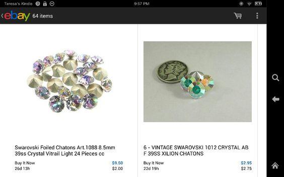 Swarovski Crystal Chatons