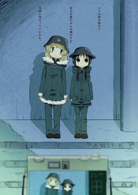 Chito Yuuri Girls Last Tour Chito Yuuri Girllasttour Anime Anime Characters Anime Comics