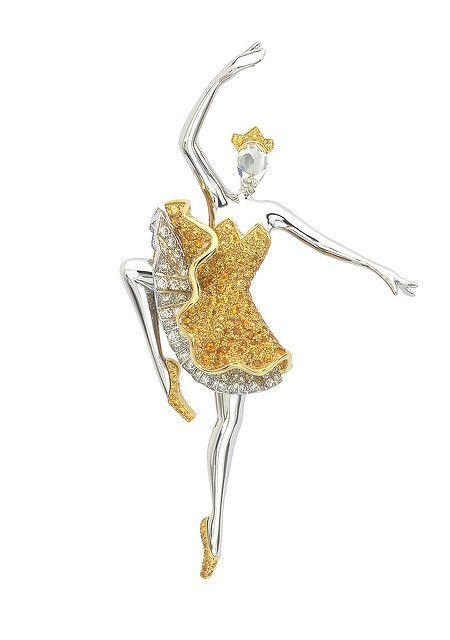van cleef and arpels ballerina | Van Cleef & Arpels - Sylphide ballerina clip | Flickr - Photo Sharing!