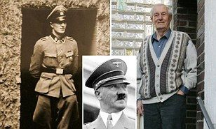 The man who served as Adolf Hitler's bodyguard has died aged 96 after a short illness. Rochus Misch was by the Nazi leader's side for five years throughout the Second World War.