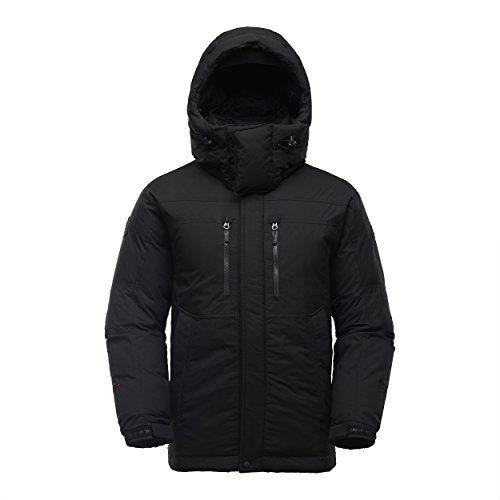 Kolon Sport Men&39s W/S Heavy DOWN Jacket(Terra Nova)_JWDW41591BL