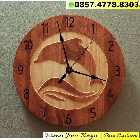 Jual Jam Kayu Murah Jam Kayu Palet Jam Hias Kayu Jam Kayu Karikatur Jam Kayu Termahal Melayani Pembuatan Secar Animal Clock Wall Clock Wooden Clock Nature