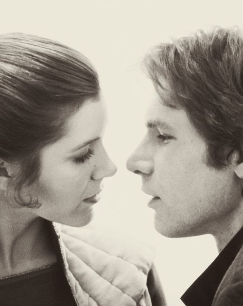 """But if she says, 'I love you,' and I say, 'I know,' it's beautiful and it's acceptable and it's funny,"" he pleaded. ""The point is, I'm not worried about myself anymore; I'm worried about her."" Harrison Ford about the ""I know"" line in Episode V: The Empir:"