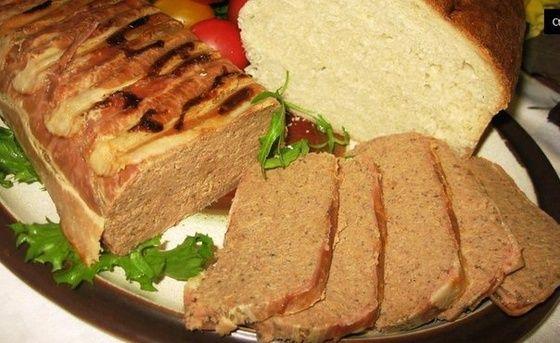 Pashtet Iz Pecheni Recipes Food Meatloaf
