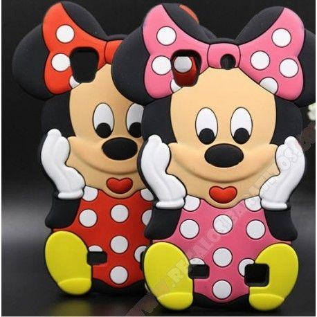 Nueva Carcasa 3D Minnie silicona para Huawei Ascend G620