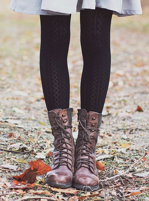 Ideal shoes to wear with tights. When the sun is shining but it is freezing, it makes a perfect weather for wearing tights with your comfoisinsi.tk of us usually think about buying plain or black tights, but every woman should experiment different styles and varieties of tights.