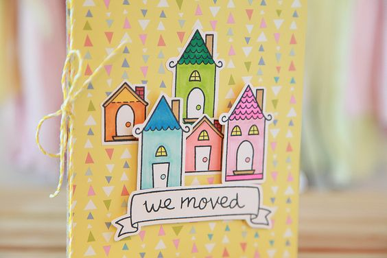 handmade moving cards | File Name : we+moved3.jpg Resolution : 1300x1300 Image Type : image ...