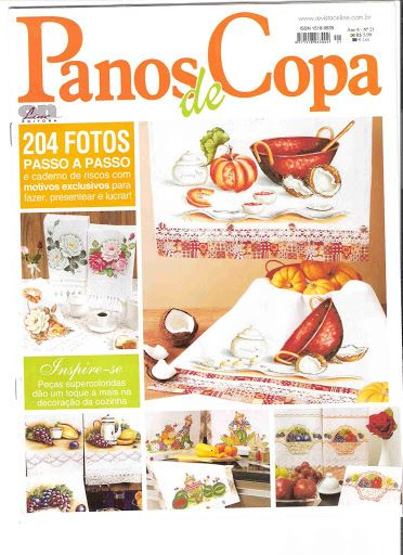 PANOS DE COPA Nº 21 - Aparecida Zaramelo - Picasa Web Albums