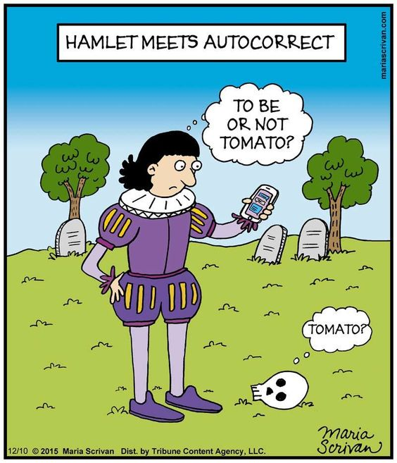 Is anyone down for writing up a new essay on Hamlet?