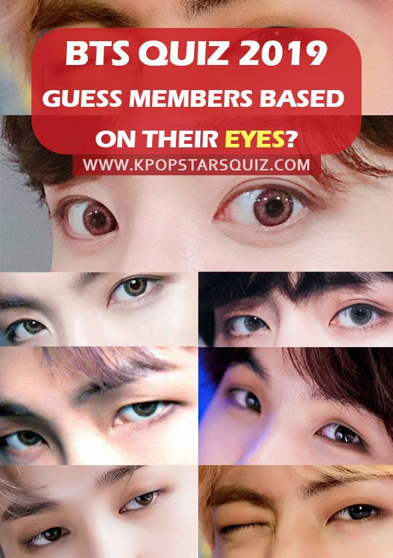 Bts Quiz Can You Guess Bts Members Based On Their Eyes Bts Eyes Quiz Bts Members