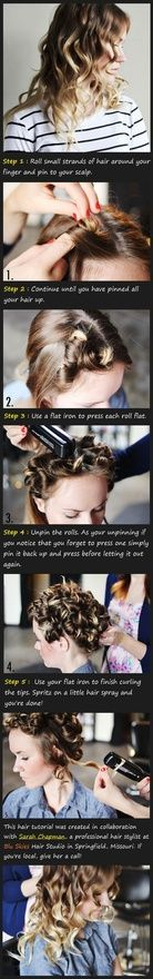 literally 100s of hair tutorials! - Click image to find more Hair  Beauty Pinterest pins