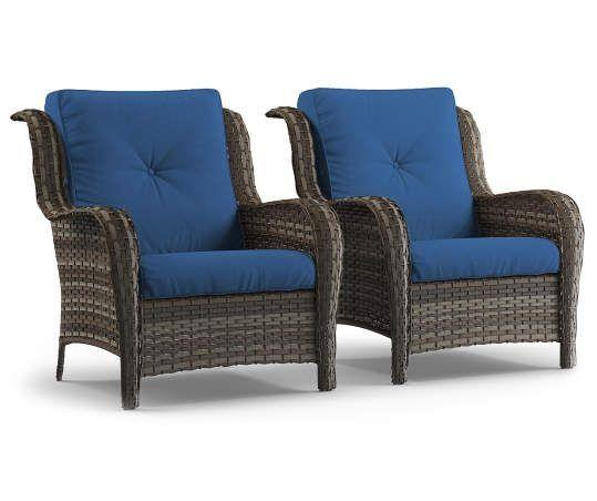 wicker porch furniture patio chairs