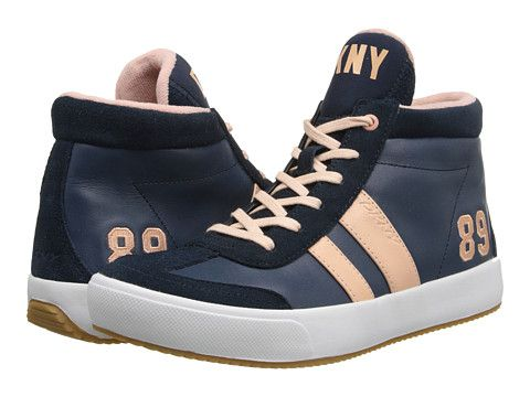 DKNY Kooper Navy/Sundown/Suede/Leather - Zappos.com Free Shipping BOTH Ways