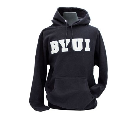 BYU-Idaho Men's Felt Applique Hood