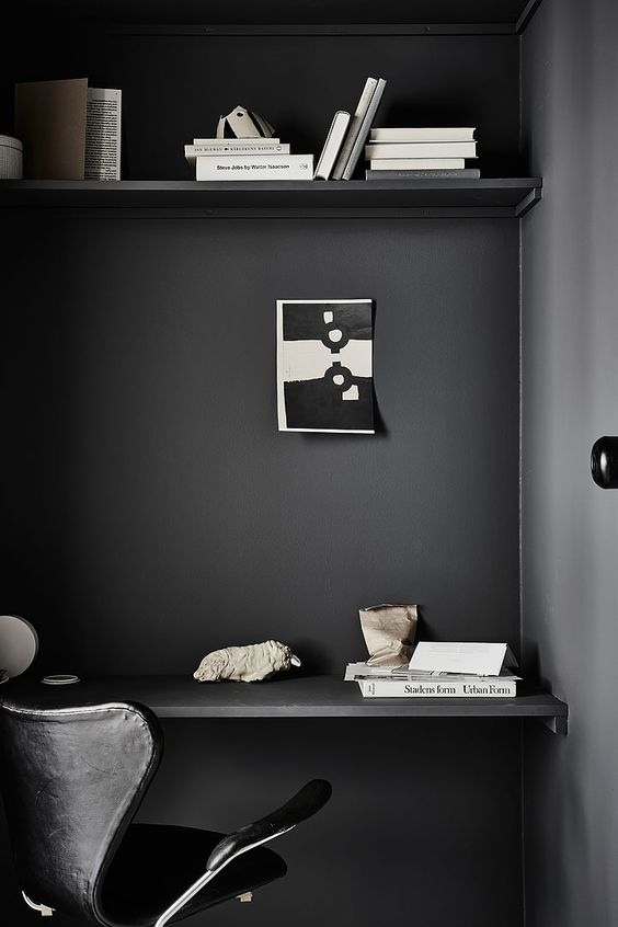 Perfect moody workspace, via http://www.scandinavianlovesong.com/