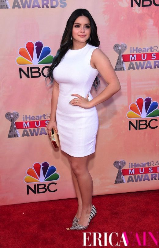 Ariel Winter at the iHeartRadio Music Awards Red Carpet. #ArielWinter #RedCarpet #iHeartRadio #iHeartRadioMusicAwards #EricaVain