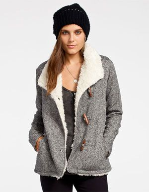 Fleece Coats For Women - JacketIn