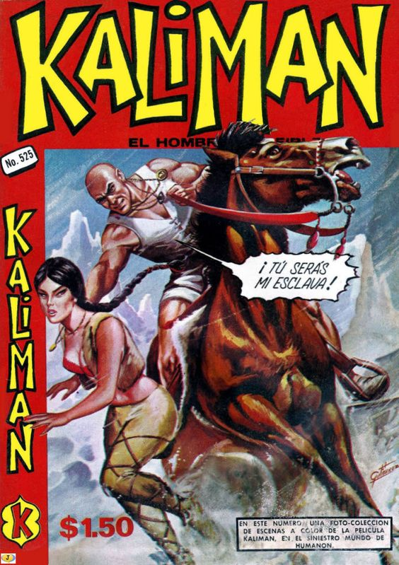 Comics Mexicanos De Jediskater Portada Kaliman No 525