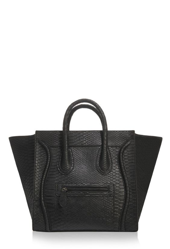 is there a dupe for the celine micro luggage tote bag